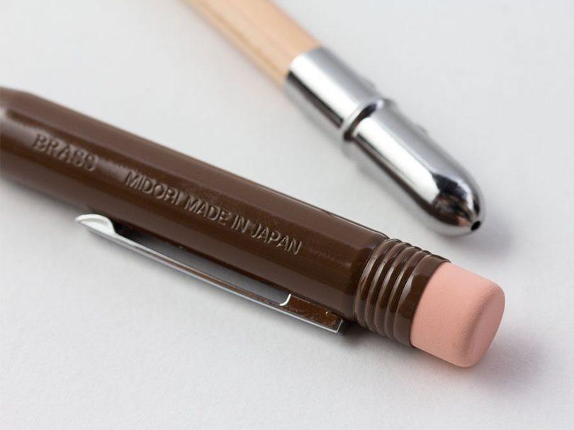 Midori Brass Pencil Case