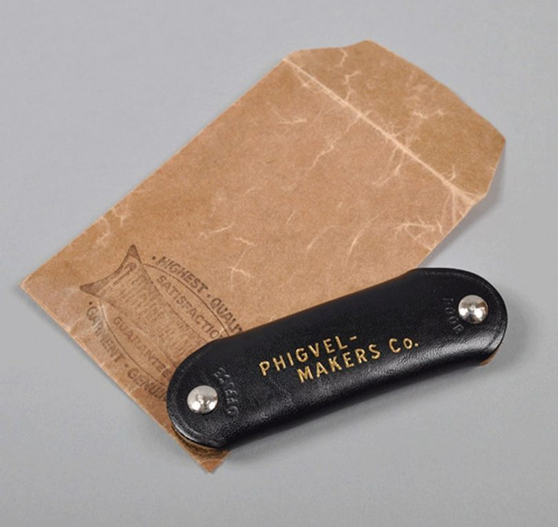 Leather Key Swivel Case