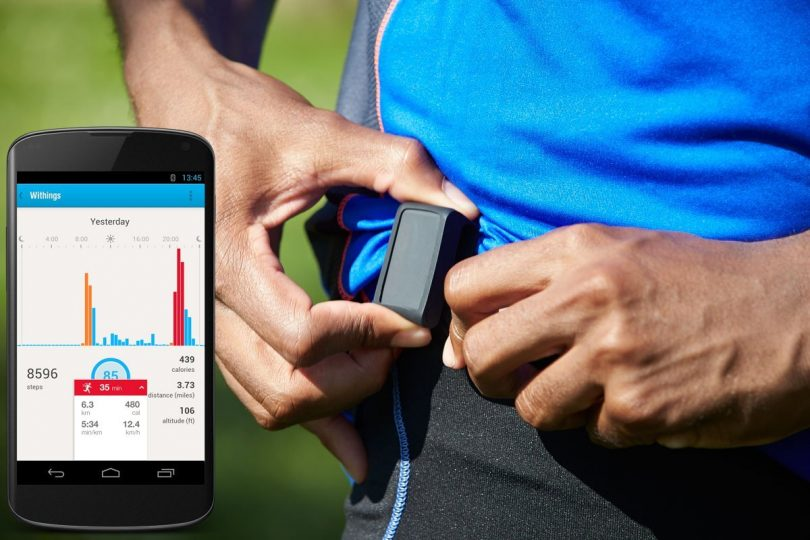Withings Pulse Wireless Activity Tracker