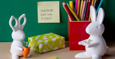 Bunny Desk Organiser – Scissors and Paper Clips Holder
