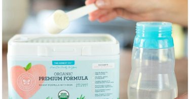 Organic Non-GMO Premium Infant Formula with Iron