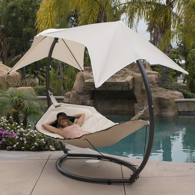 Belleze Hammock Swing with Sunroof