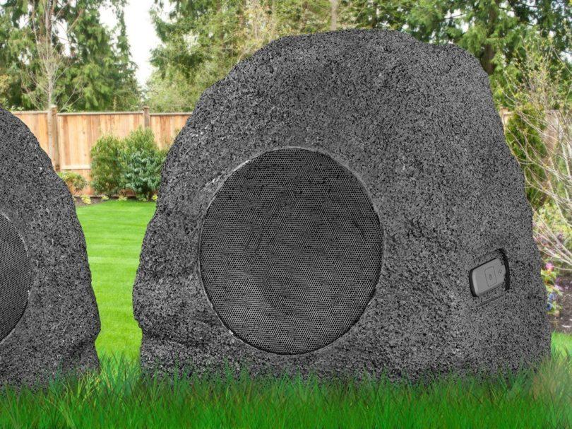 Premium 5-Watt Bluetooth Outdoor Rock Speakers