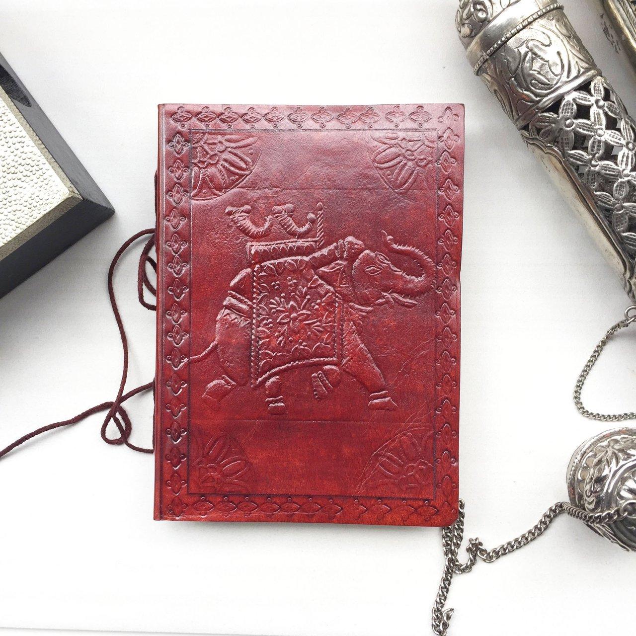 Elephant Handmade Leather Journal