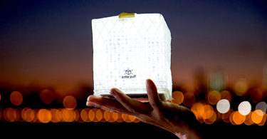 Solight Design Merlin SolarPuff Portable LED