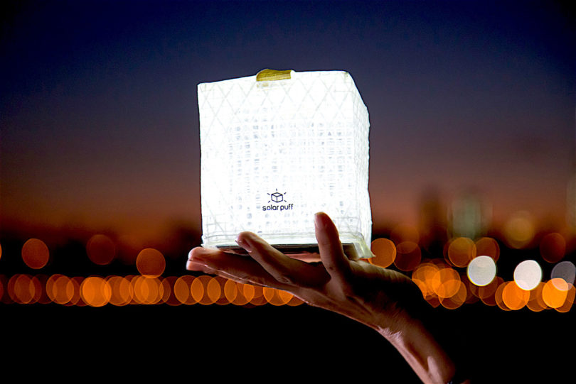 Solight Design Merlin SolarPuff Portable LED