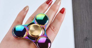 Colorful Metal Fidget Spinner Toys