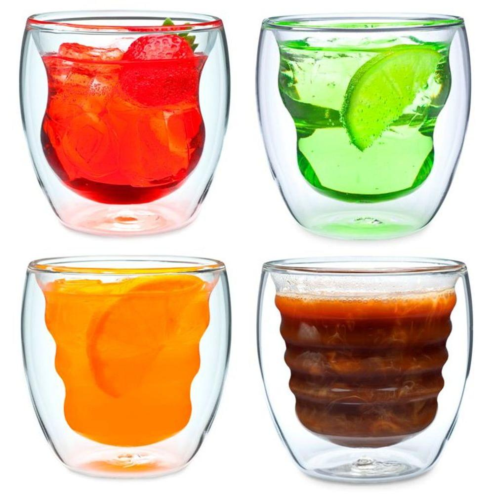 Curva Artisan Series Double Wall Beverage Glasses