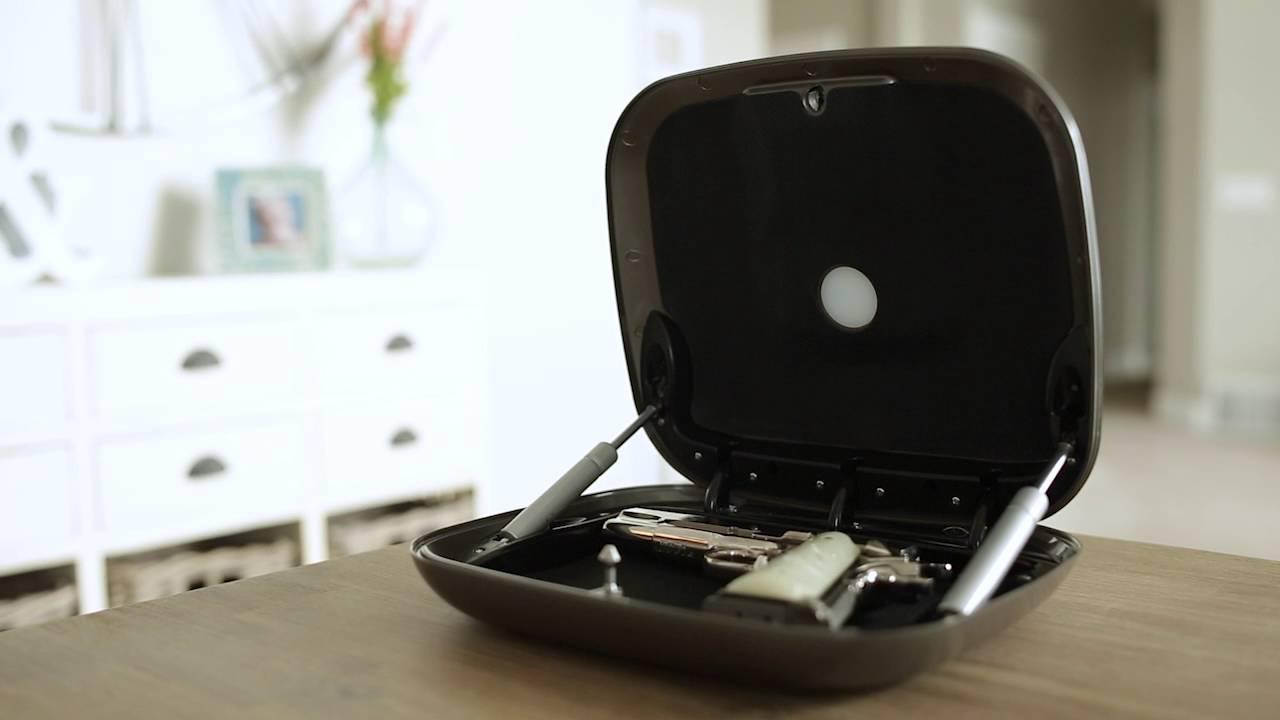 The GunBox 2.0 The Smartest Quick Access Gun Safe