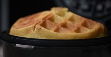 Chefman Perfect Pour Volcano Waffle Maker