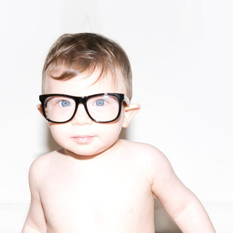 Flexible Black UV Baby Glasses