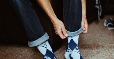 Agent Crew Socks by Strollegant