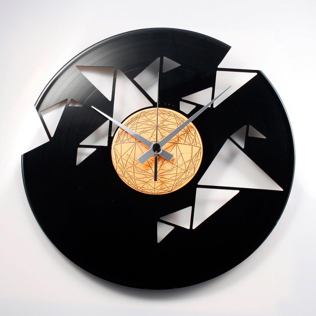 Origami Vinyl Wall Clock