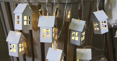 Houses String Lights