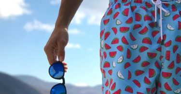 Blue Fresh Slices Swimwear