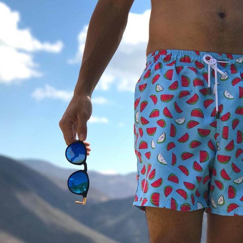 Blue Fresh Slices Swimwear