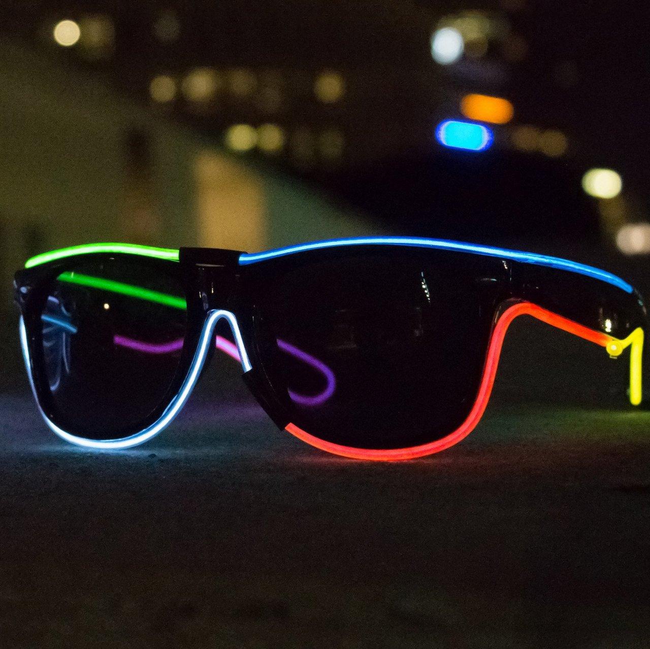 MX1 Multi-Color El Wire Glasses