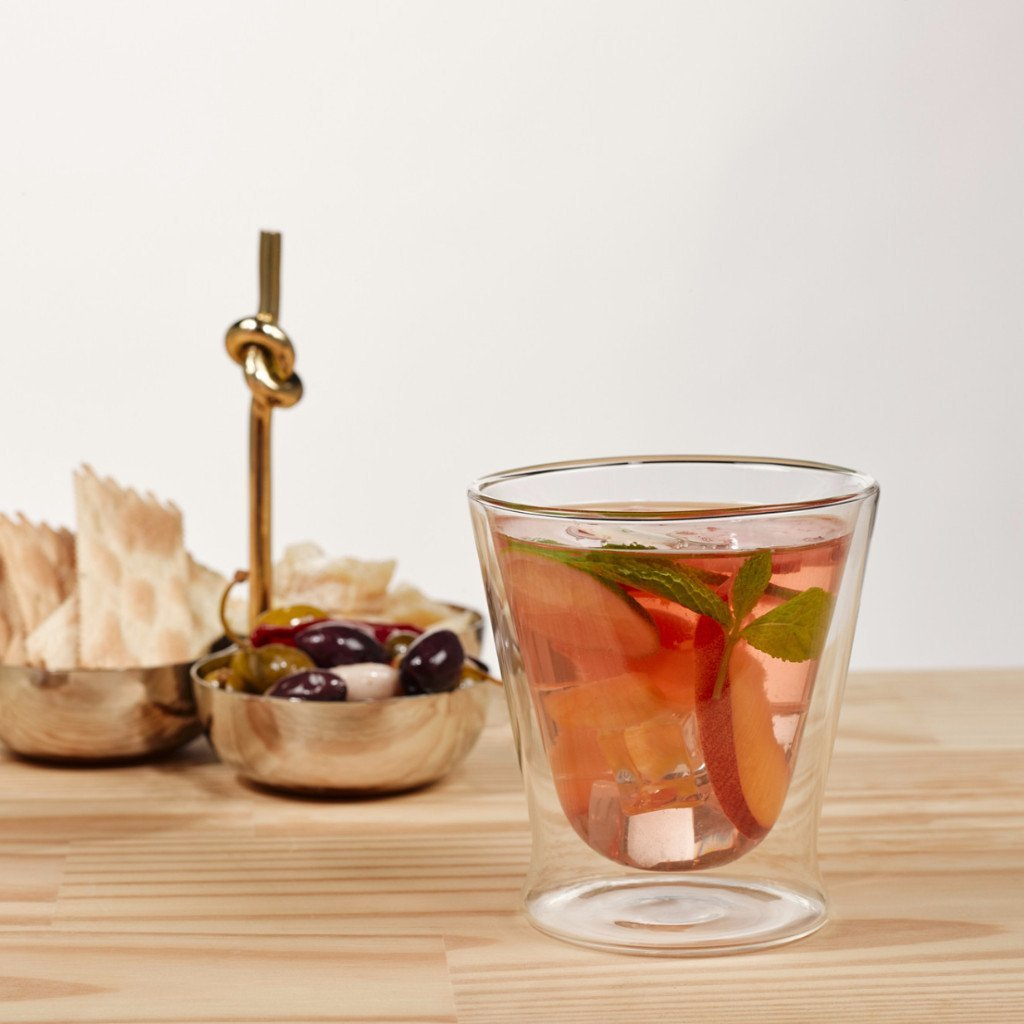 Eparé 10 oz Double-Wall Tumbler Glass