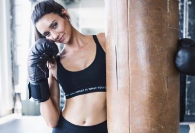 What You Sweat Is What You Get Grace Sports Bra