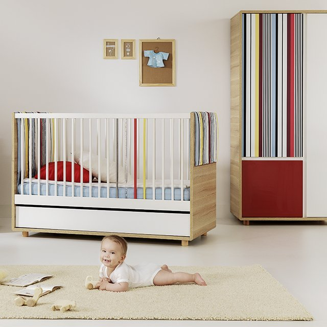 Little Guy Comfort Evolve Convertible 3-in-1 Crib/Youth Bed