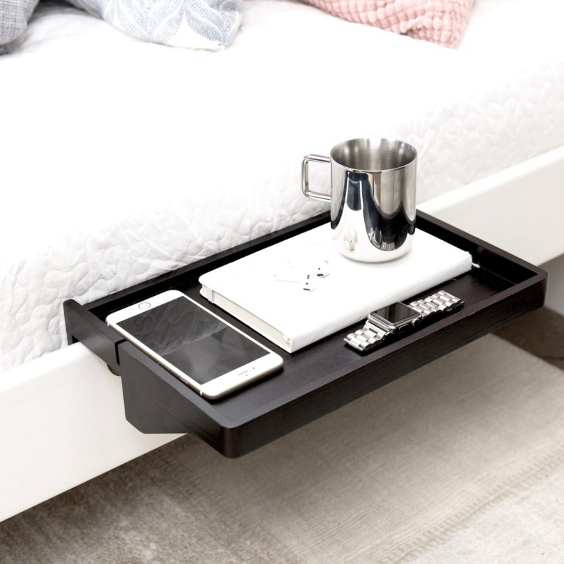 BedShelfie Space-Saving Minimalist Nightstand