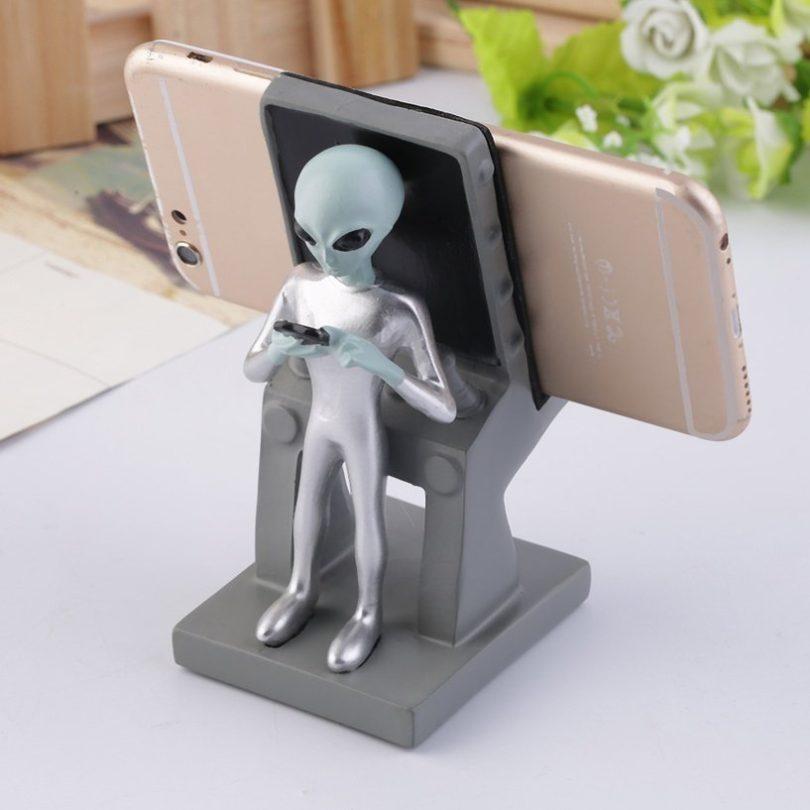 Alien Smartphone Stand