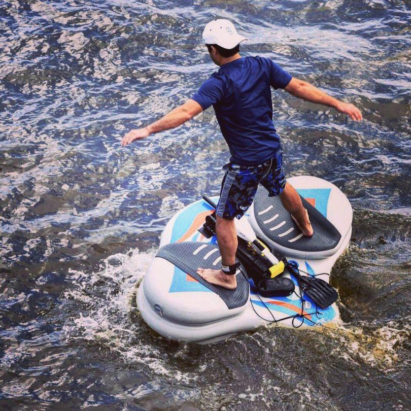 WaterBlade Stingray Motorized Water Board