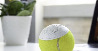 hearO Tennis Ball Speaker
