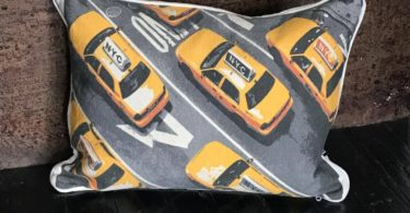 NYC Yellow Cab Cushion Cover