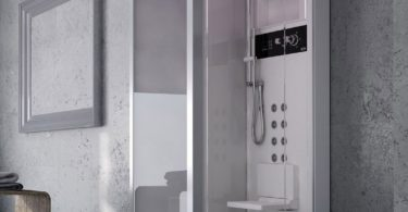Jacuzzi Frame 120 TB Angular Shower