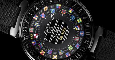 Louis Vuitton Tambour Horizon Graphite 42 Watch