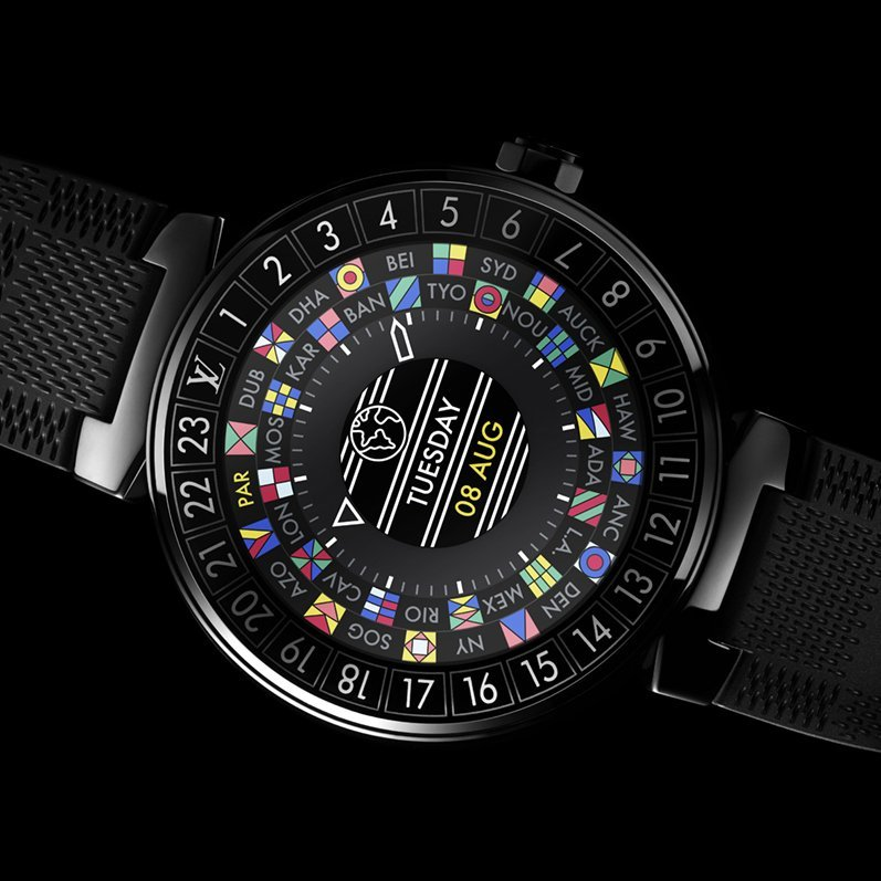 Louis Vuitton Tambour Horizon Graphite 42 Watch