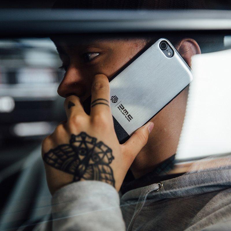 HEX x DeLorean Motor Co iPhone Case