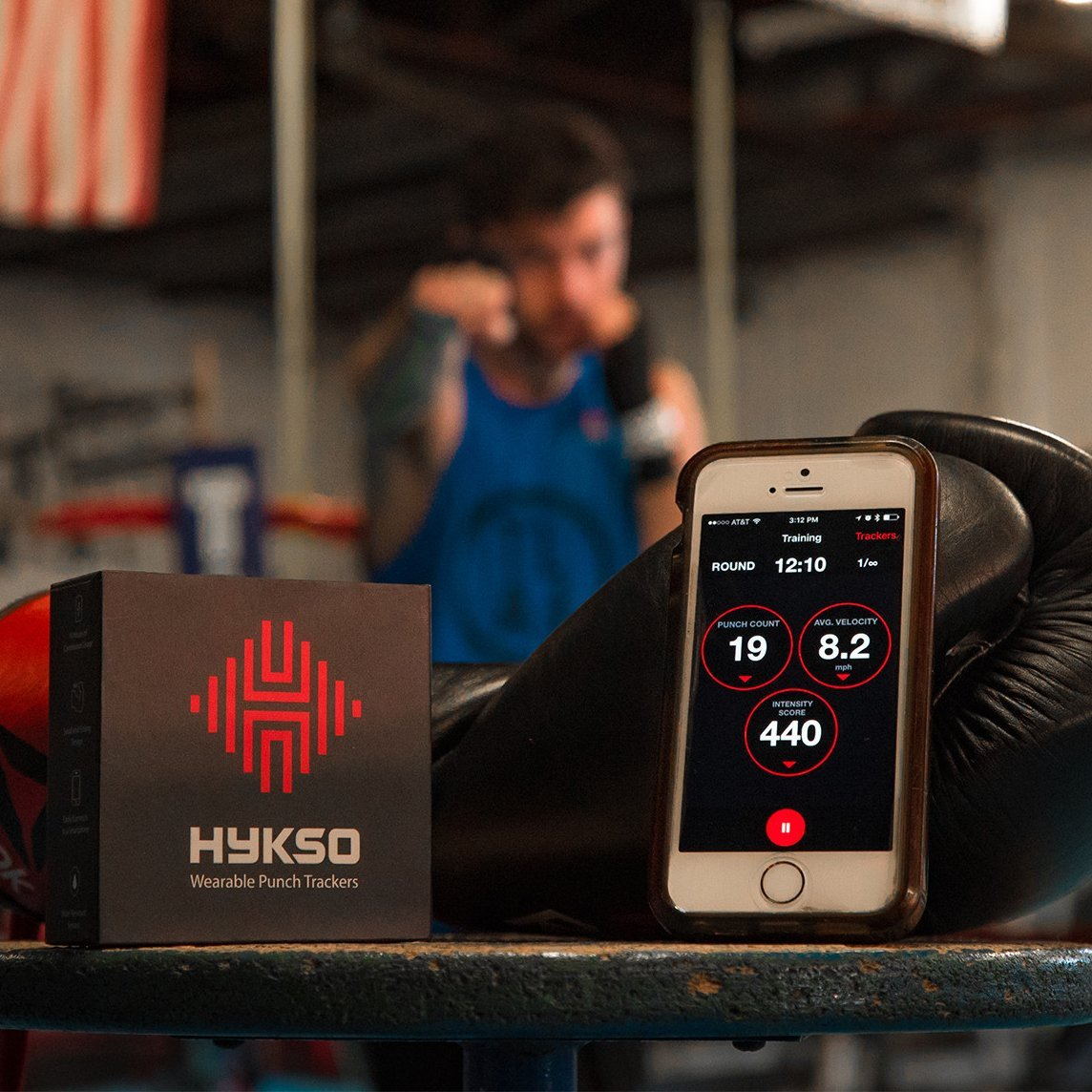 Hykso Wearable Punch Trackers