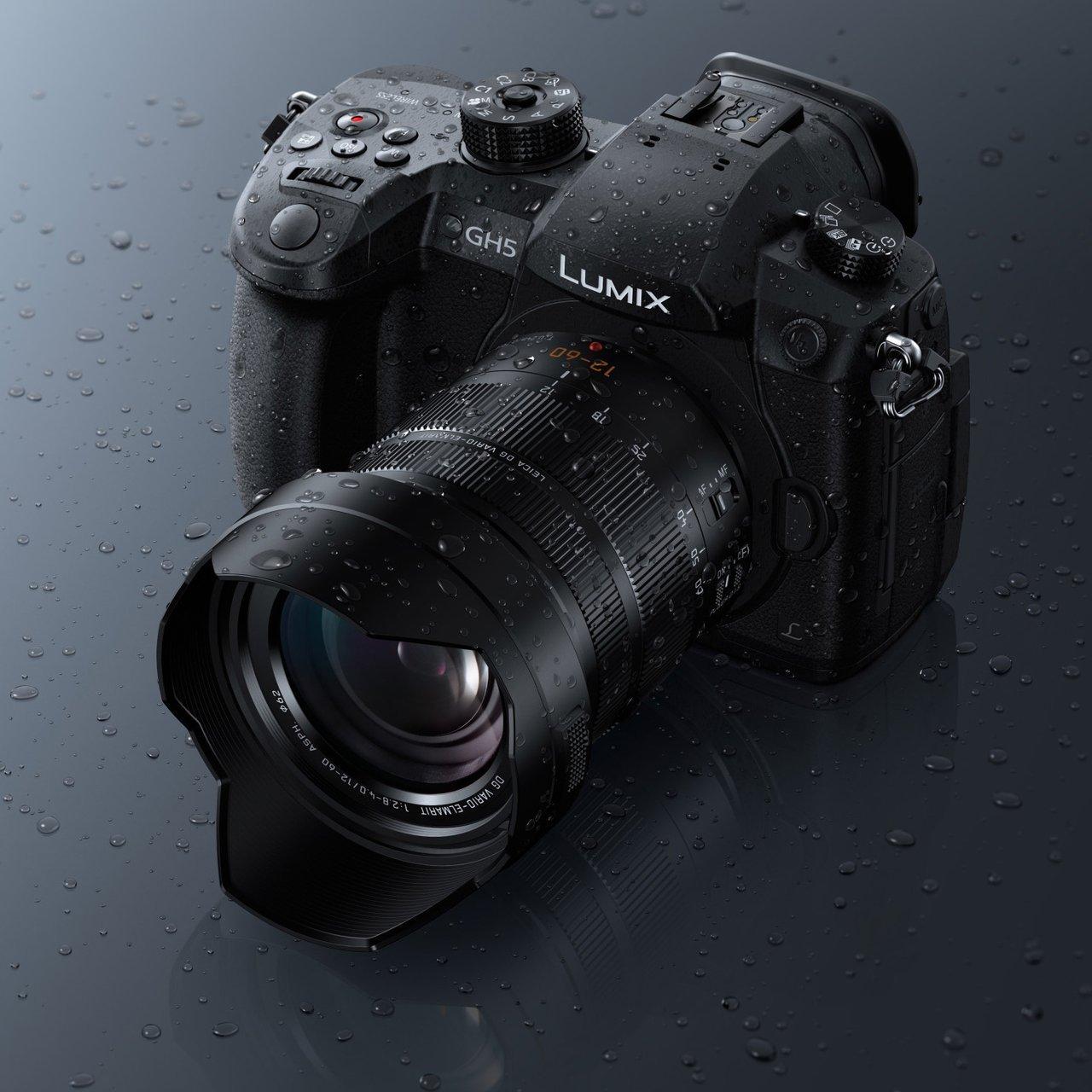 Panasonic Lumix DC-GH5 Mirrorless Micro Four Thirds Digital Camera