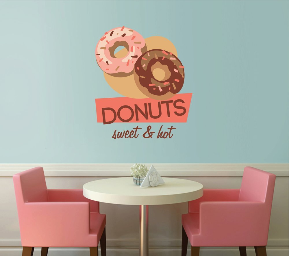 Donut Full Color Wall Decal