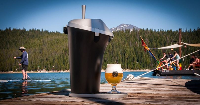 Portable Beer System with Fizzics Micro-foam Technology