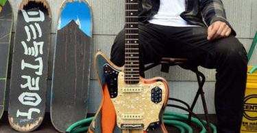 Prisma Recycled Skateboard Guitars