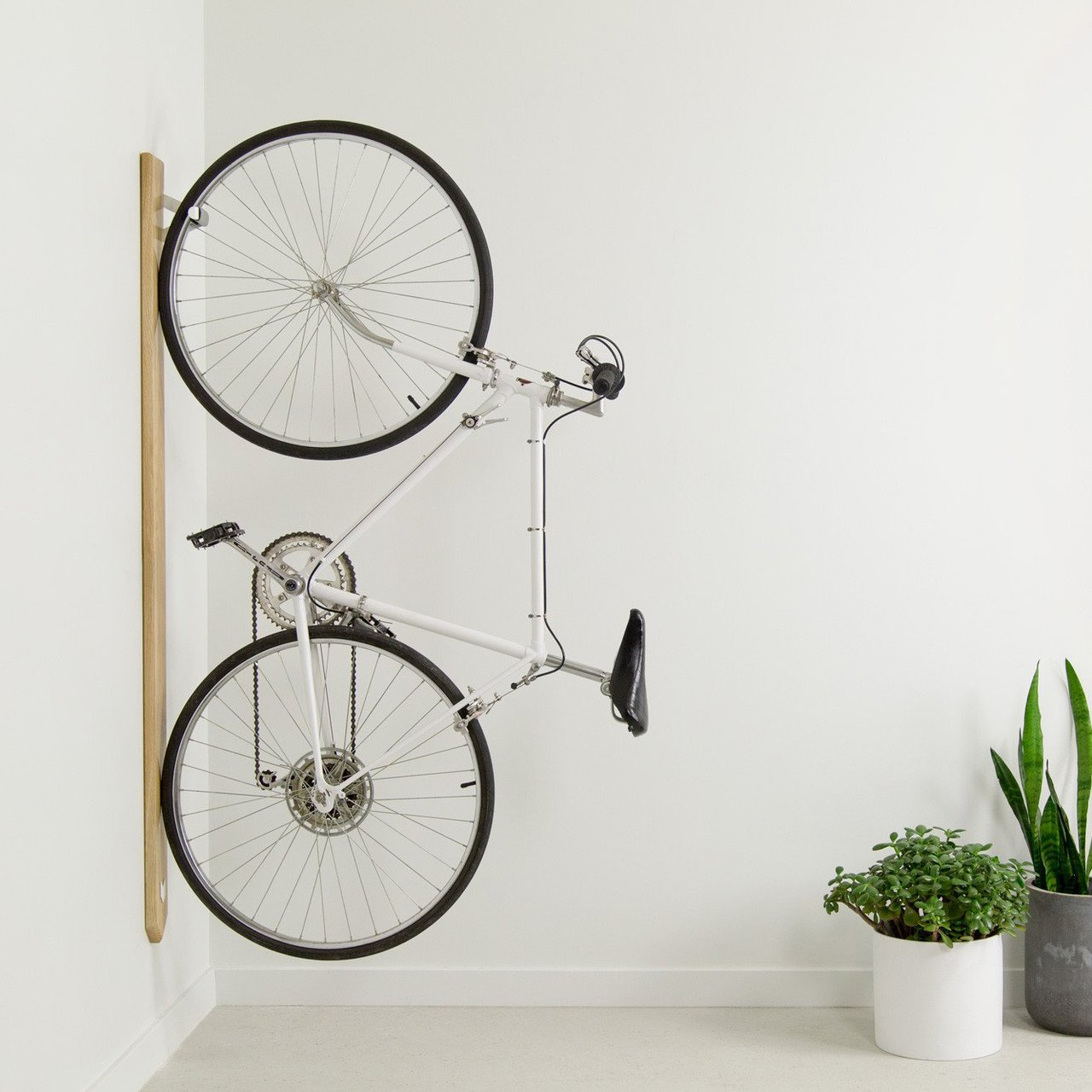 White Oak Bike Rack by Artifox