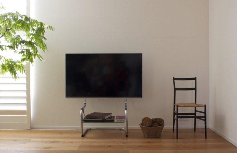 Floor Metal TV Stand by zeitgeist