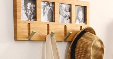 Photo Frame Coat Rack