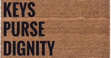 Keys Purse Dignity Coco Doormat