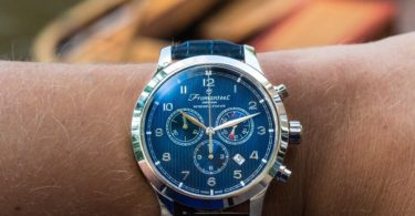 Amsterdam Chrono Nautique Blue Watch by Fromanteel Amsterdam
