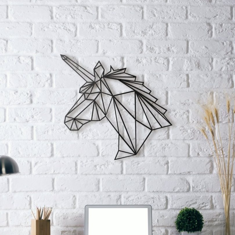 Unicorn Metal Wall Art