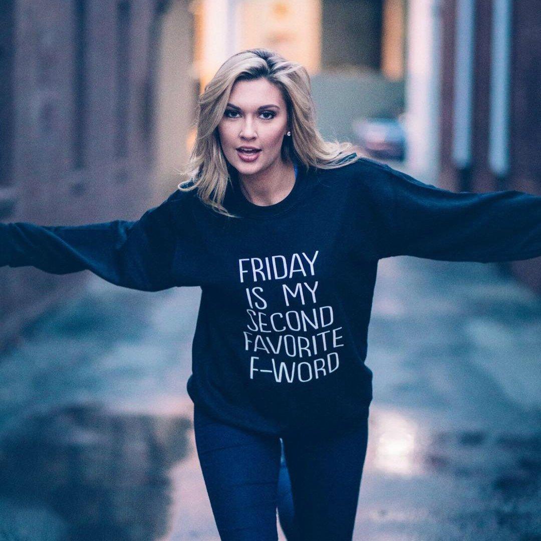 Friday Is My Second Favorite F Word Crew Neck Sweatshirt