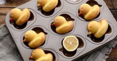 C-Pioneer Chocolate Mold 15 Ducks Shaped Ice cube Mold