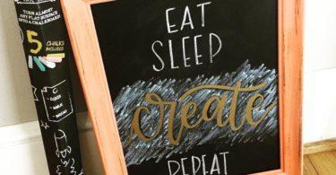 Chalkboard Wall Paper Decal