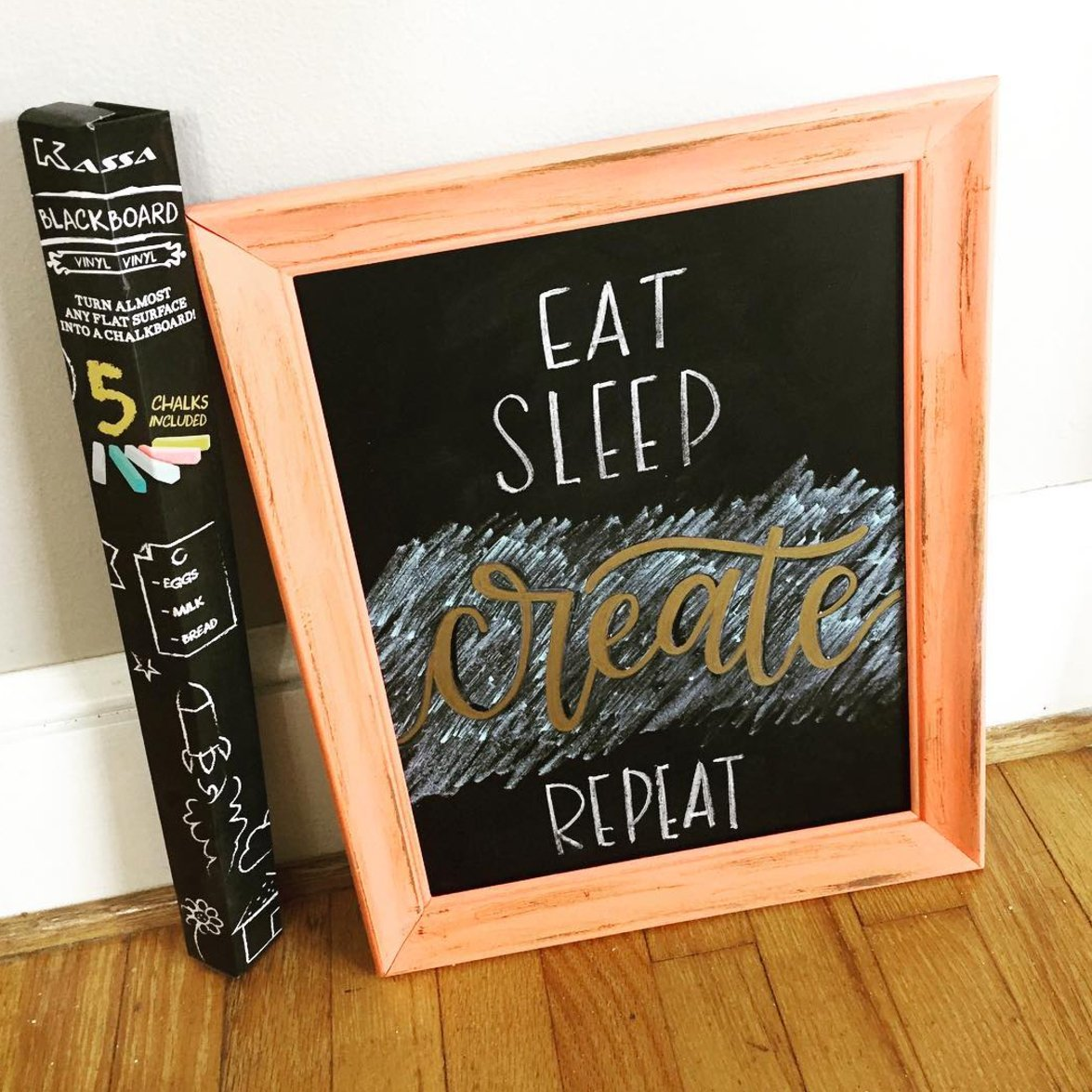Chalkboard Wall Paper Decal