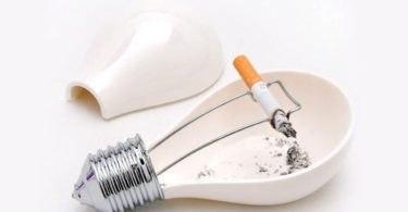 Light Bulb Ashtray