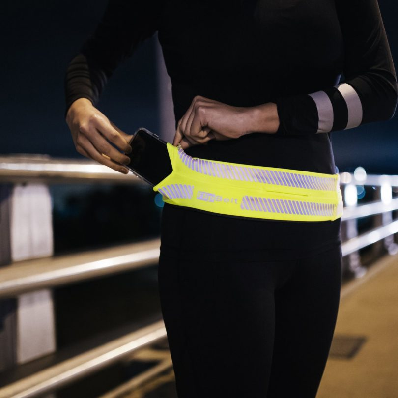 FlipBelt Yellow Reflective Edition